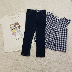 The Children's Place 3-piece Outfit Lot Sz 5t NWT